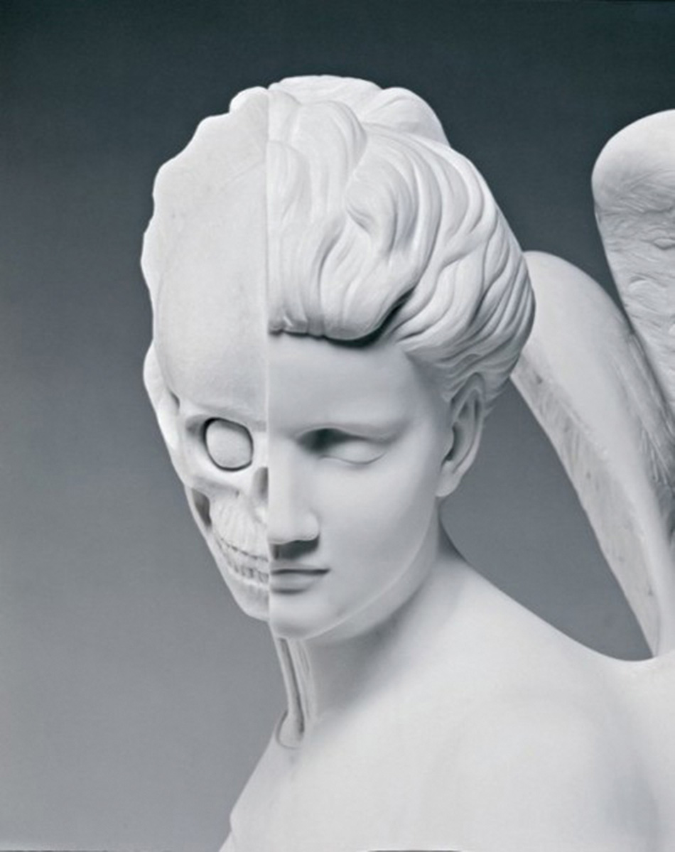 The Anatomy of an Angel  [face] Damien Hirst