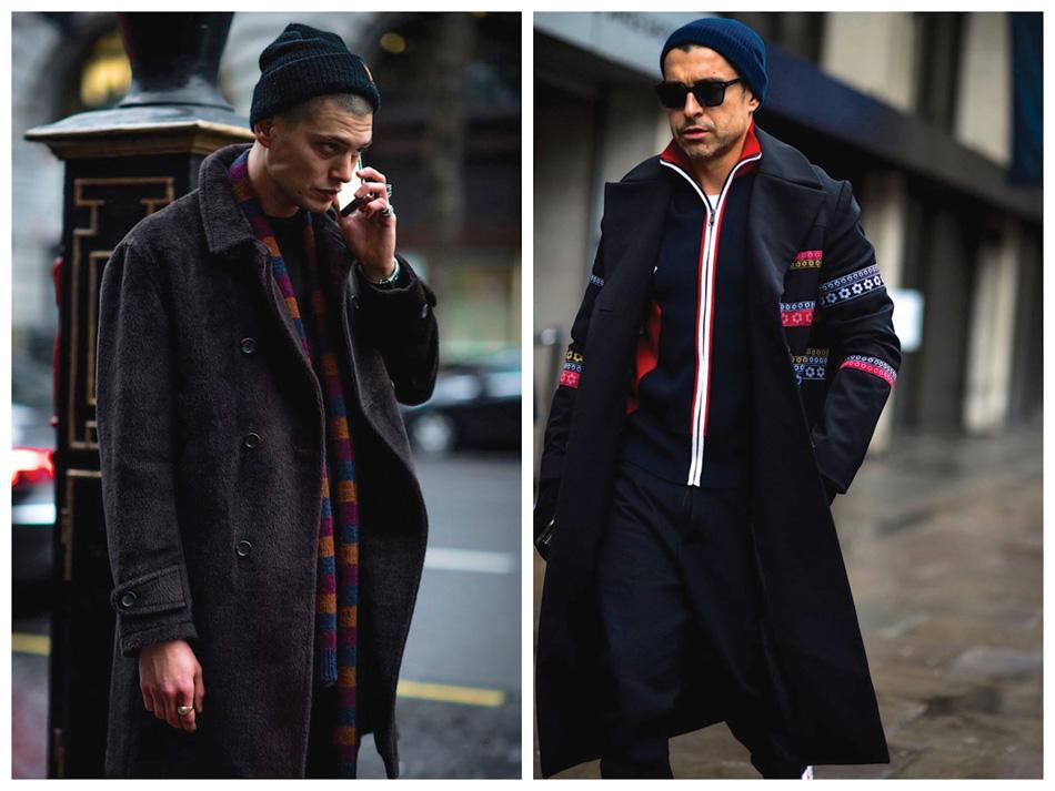 It seems thatit's the return ofthe beanie, hoodie and nineties streetwear