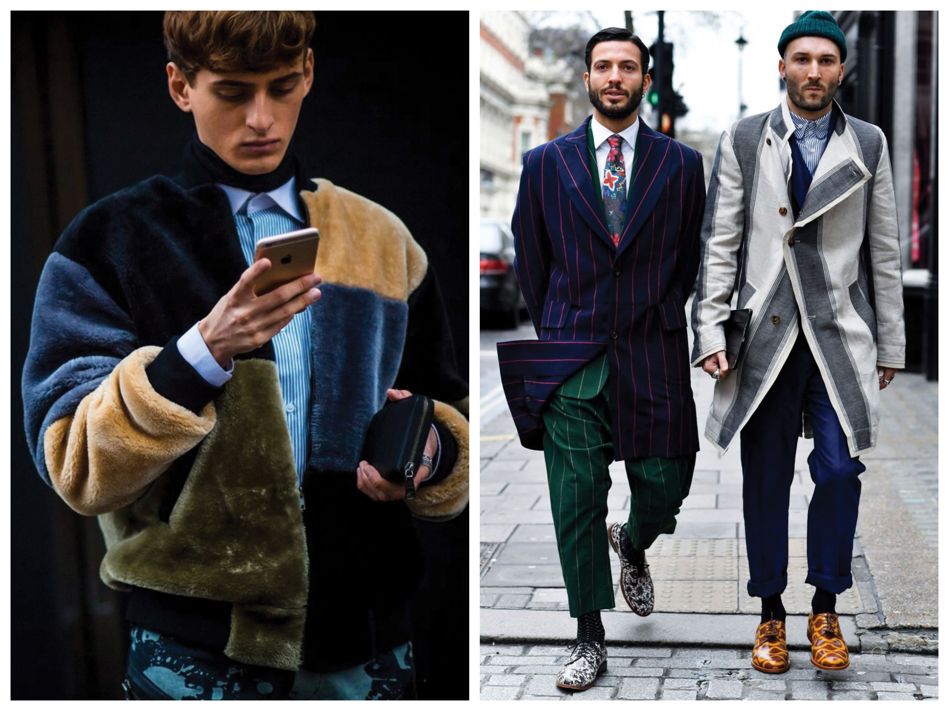 Experiment in general! This winter you really can't go wrong. Start colour-blocking, mix and mismatch patterns, fabrics and colours ― have fun with it!