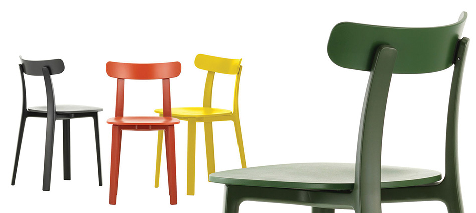 All Plastic chairs for outdoor Made by Vitra available at Dex Workspaces, Mdina Road, Qormi