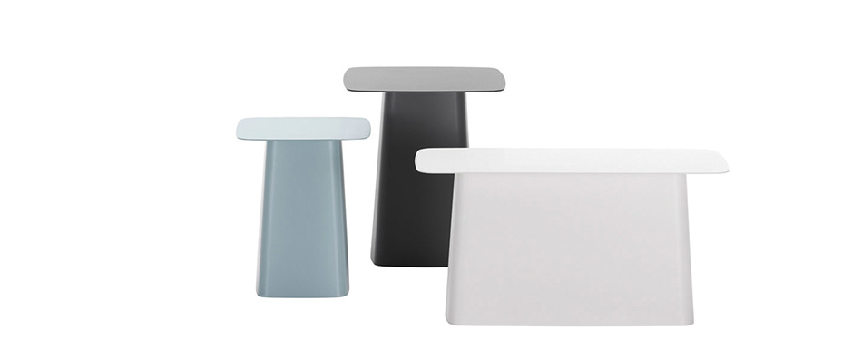Metal side tables for outdoor by Vitra available at Dex Workspaces, Mdina Road, Qormi