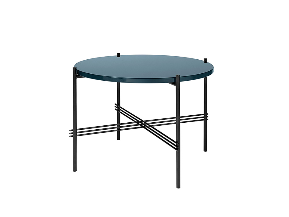 TS coffee table Black frame diameter  40cm €593; 55cm diameter €617,  80cm diameter €884, 105cm  diameter  €1,257.