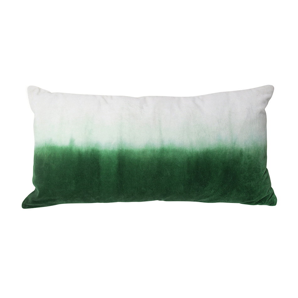PRINTED CushionS Palm print €20 Green & Gradient green €40.
