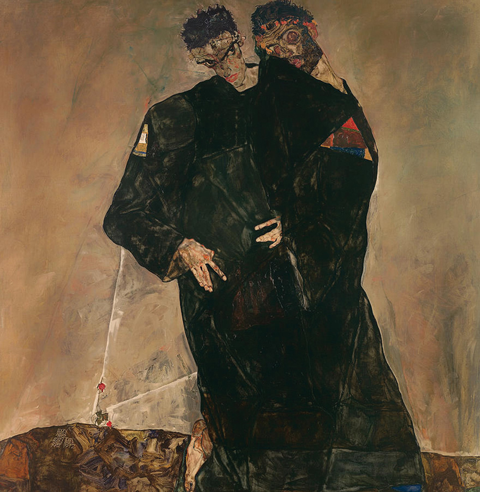 the-hermits-egon-schiele